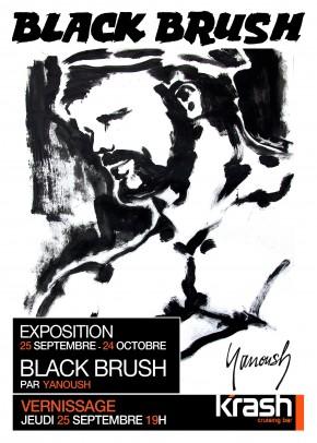 Expo Black Brush